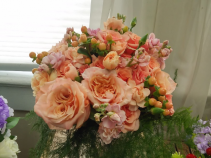 Peach Love Hand-tied