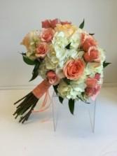 Peach Paradise Bridal Bqt
