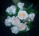Peach Rose Bridesmaids Bouquet