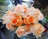 Peach Sparkle  Bouquet