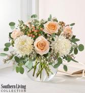 Peach Splendor Vase arrangement
