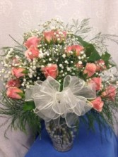 Peach Spray Roses Bouquet