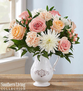 Peaches and Cream™ by Southern Living™ Arrangement