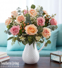Peaches and Cream™ by Southern Living® Arrangement