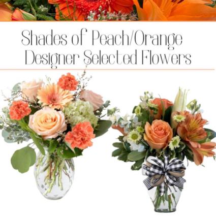 Peach/Orange-Designer's Choice