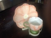 peachtulip/flowers teacup 25.00