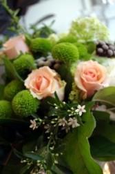 Peachy Keen Handtied Bouquet