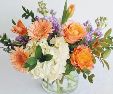 Peachy Keen Vase