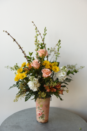 Peachy Passion  in La Grande, OR | FITZGERALD FLOWERS
