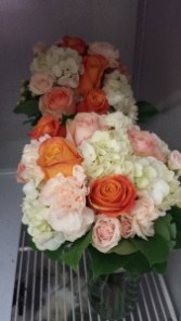 Peachy Passion Vase Arrangement