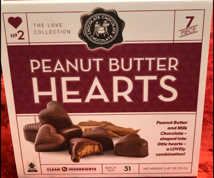 Peanut butter hearts Chocolates