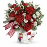 Peanuts Christmas Mug Holiday Bouquet
