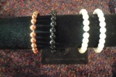 One Pearl Bracelet  Wristlet Corsage