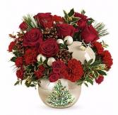 Teleflora's Pearl Ornament Bouquet