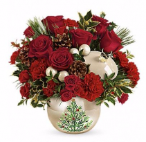 Teleflora's Pearl Ornament Bouquet