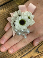 Pearled Blooming Ring