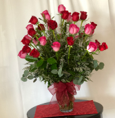 A Texas 24  Romance Vase arrangement