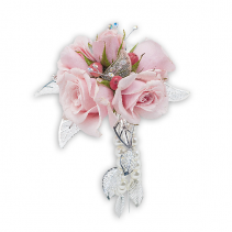 Pearly Wrist Corsage
