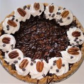 Pecan Chocolate Chip Pie Sweet Blossoms