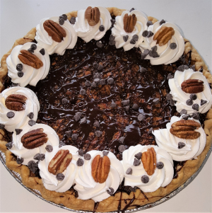 Pecan Chocolate Chip Pie Sweet Blossoms in Jamestown, NC | Blossoms Florist & Bakery