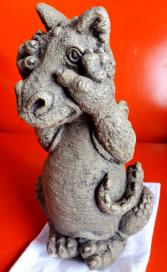 Peek- A-Boo Little Dragon Massarelli Fine Stone