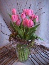 ISLAND GROWN TULIPS FRESH TULIP VASE