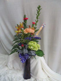 Pencil Me In Fresh Mixed Budvases