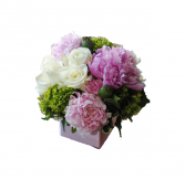 Peonies and Roses arrangement
