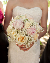 Peonies and Roses Bridal Bouquet