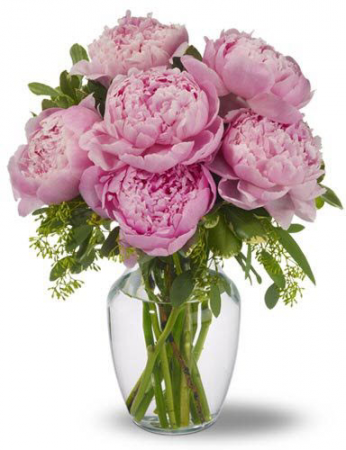 Peonies Bouquet Flower Delivery Fort Worth