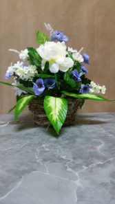 Peony and Pansy Arrangement Gift Items