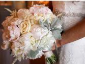 Peony bridal bouquet  Wedding