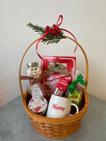 Peppermint Gift Basket