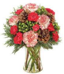 Peppermint & Pine Bouquet Arrangement
