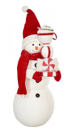 Peppermint Snowman Gift Item