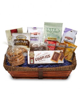 Perfect Cookie Basket Gift Basket in Los Angeles, CA | MY BELLA FLOWER