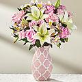 Perfect Day Bouquet Vase Arrangement in Ambler, PA   Flowers By Veronica, Inc.