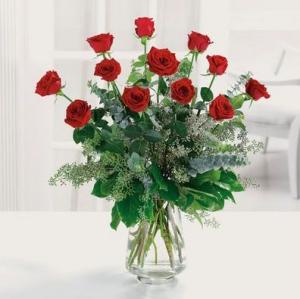 Perfect Dozen Roses in Tulsa, OK   Absolutely Flowers & Tulsa Gift Baskets