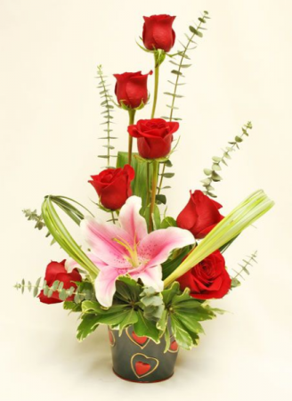 PERFECT DUO: ROSES AND LILIES
