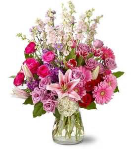Perfect in Pink Mixed Floral Arrangement