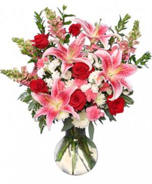 PERFECT LOVE BOUQUET Fresh Flowers in Sonora, CA | SONORA FLORIST AND GIFTS