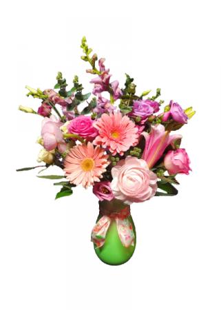 Perfect Pastels Vase Arrangement