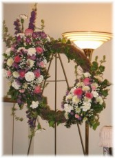 Perfect Peace Grapevine Wreath  Buds 'n Bows Original