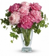 Perfect Peonies Vase Arrangement