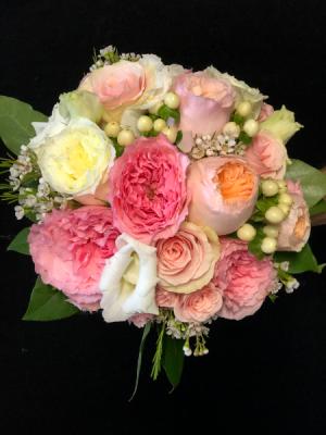 Perfect Pink Wedding Bouquet Wedding Bouquet in Key West, FL | Petals & Vines