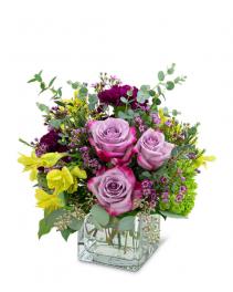 Perfect Plum Flower Arrangement