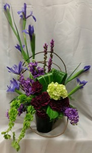 Perfect Serenity GFFG Contemporary Arrangement in Greers Ferry, AR | GREERS FERRY FLORIST & GIFTS