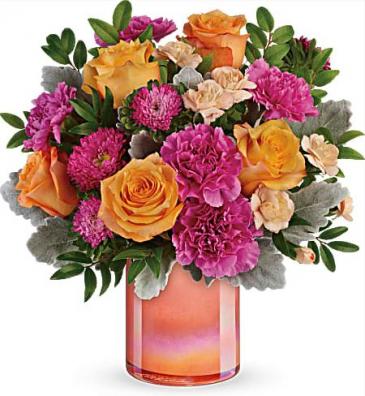 Perfect Spring Peach Bouquet