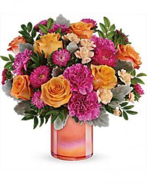 Perfect Spring Peach Bouquet  in Punta Gorda, FL | CHARLOTTE COUNTY FLOWERS
