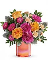 Perfect Spring Peach Bouquet Bouquet